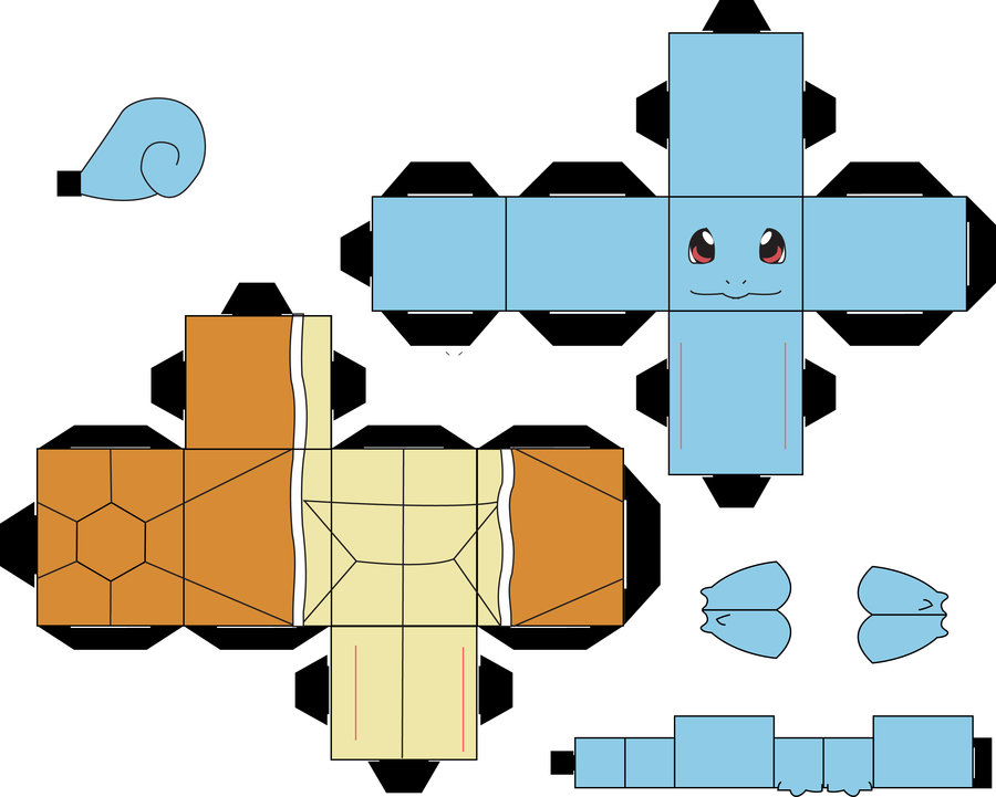 Origami Squirtle 18