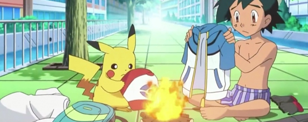 מה לעזאזל? אש רוקד בתחתונים!