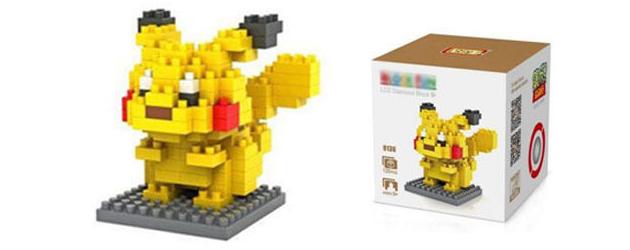 איך בונים Pikachu – iBlock Fun + חלוקה של חמישה פוקי-לגו במתנה!