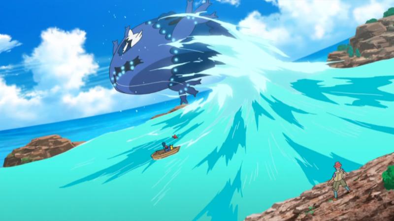 פרק 976 – החוזק של ווישיוואשי, הטוטם של האגם! / The Strength of Wishiwashi, Totem of the Lake!