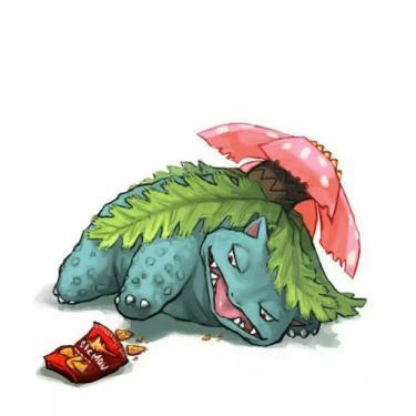 Lazy Venusaur